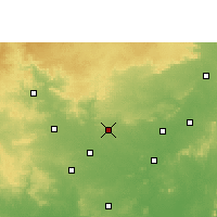 Nearby Forecast Locations - Ramtek - Map