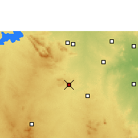 Nearby Forecast Locations - Rayadurg - Map