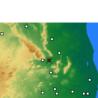 Nearby Forecast Locations - Renigunta - Map