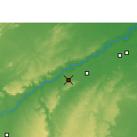 Nearby Forecast Locations - Sabalgarh - Map