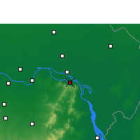 Nearby Forecast Locations - Sahebganj - Map