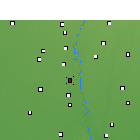 Nearby Forecast Locations - Samalkha - Map