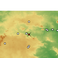 Nearby Forecast Locations - Saunda - Map