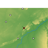 Nearby Forecast Locations - Sawai Madhopur - Map
