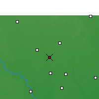 Nearby Forecast Locations - Shahjahanpur - Map