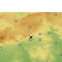 Nearby Forecast Locations - Shendurjana Ghat - Map