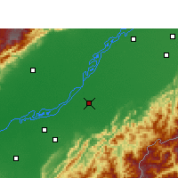 Nearby Forecast Locations - Sivasagar - Map