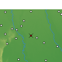 Nearby Forecast Locations - Sikandrabad - Map