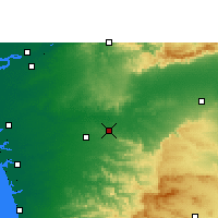 Nearby Forecast Locations - Songadh - Map