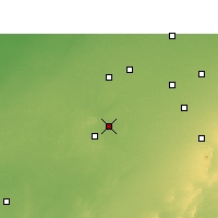 Nearby Forecast Locations - Sujangarh - Map