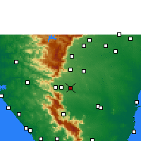 Nearby Forecast Locations - Surandai - Map