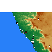 Nearby Forecast Locations - Taliparamba - Map