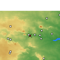 Nearby Forecast Locations - Tenu dam-cum-Kathhara - Map