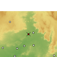 Nearby Forecast Locations - Wara Seoni - Map