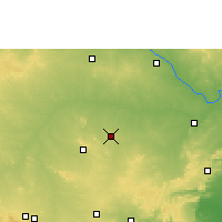 Nearby Forecast Locations - Yemmiganur - Map