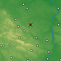 Nearby Forecast Locations - Iłża - Map