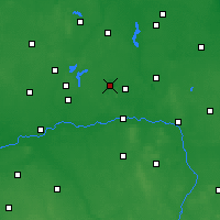 Nearby Forecast Locations - Kleczew - Map