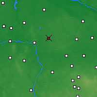 Nearby Forecast Locations - Kłodawa - Map