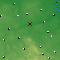 Nearby Forecast Locations - Nowe Miasto nad Pilicą - Map