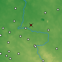 Nearby Forecast Locations - Pajęczno - Map