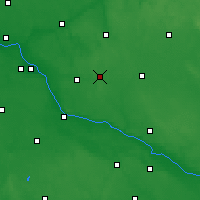 Nearby Forecast Locations - Skępe - Map