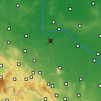Nearby Forecast Locations - Środa Śląska - Map