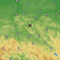 Nearby Forecast Locations - Strzyżów - Map