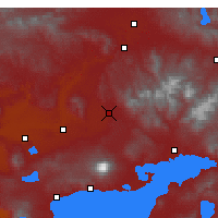Nearby Forecast Locations - Patnos - Map