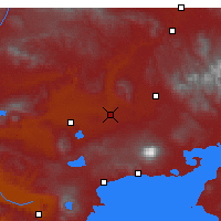 Nearby Forecast Locations - Malazgirt - Map