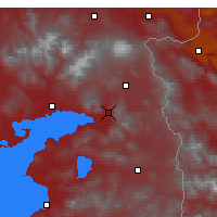 Nearby Forecast Locations - Muradiye - Map