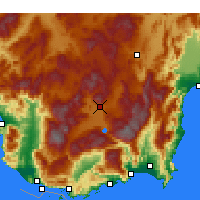 Nearby Forecast Locations - Elmalı - Map