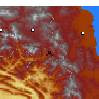 Nearby Forecast Locations - Şemdinli - Map