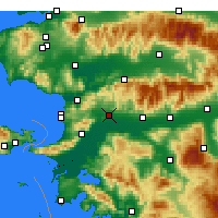 Nearby Forecast Locations - Germencik - Map