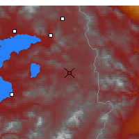 Nearby Forecast Locations - Özalp - Map