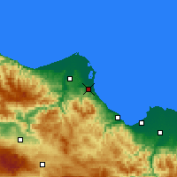 Nearby Forecast Locations - Ondokuzmayıs - Map