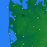 Nearby Forecast Locations - Holstebro - Map