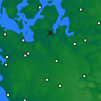 Nearby Forecast Locations - Skive - Map
