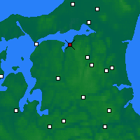 Nearby Forecast Locations - Nibe - Map