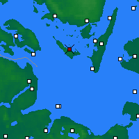 Nearby Forecast Locations - Ærøskøbing - Map
