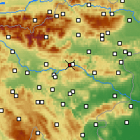 Nearby Forecast Locations - Zagorje ob Savi - Map