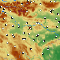 Nearby Forecast Locations - Litija - Map
