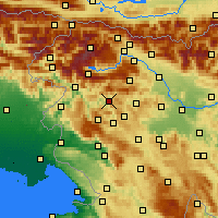 Nearby Forecast Locations - Cerkno - Map