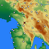 Nearby Forecast Locations - Divača - Map