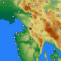 Nearby Forecast Locations - Hrpelje - Map
