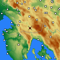 Nearby Forecast Locations - Ilirska Bistrica - Map