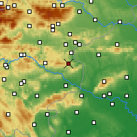 Nearby Forecast Locations - Kozje - Map