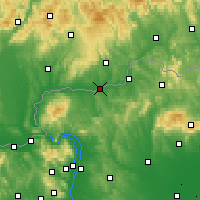 Nearby Forecast Locations - Balassagyarmat - Map