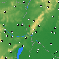 Nearby Forecast Locations - Stupava - Map