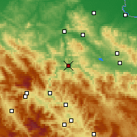 Nearby Forecast Locations - Zavidovići - Map