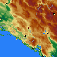Nearby Forecast Locations - Bileća - Map